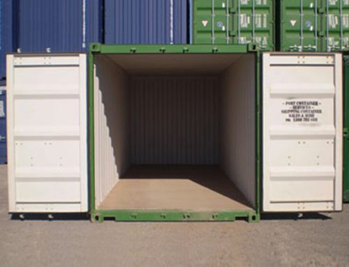 Uses for a 10ft shipping container
