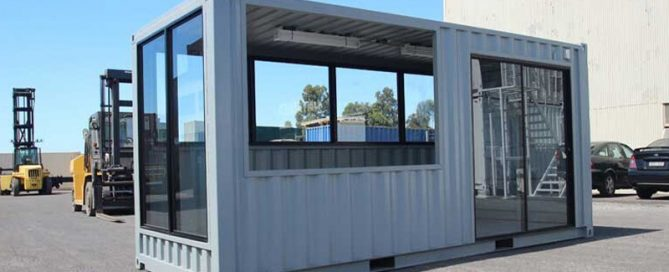 Fitted Out Shipping Containers
